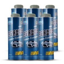 车仆 树脂型底盘装甲 汽车底盘防锈 减震 隔音 DP003【灰色】 6瓶装