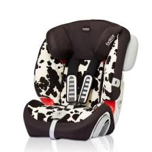 宝得适/Britax  全能百变王 9个月-12岁汽车儿童安全座椅 3c认证(小奶牛)