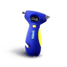 固特异/Goodyear  GY-2575 便携高精度数显胎压计安全锤应急灯安全带割刀胎纹尺五合一