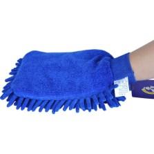 车仆雪尼尔单面手套洗车工具-050【蓝色】