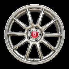 【买3送1 四只套装】丰途/FR153 18寸 旋压铸造轮毂 孔距5X112 ET35星空银全涂