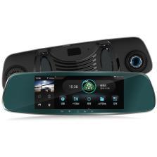 丁威特SS-MIX智能后视镜声控导航+倒车影像+送16G存储卡+送1GB流量【标配】