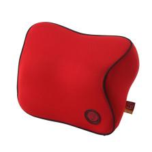 吉吉/GiGi 亲肤透气 零压记忆棉 汽车头枕护颈枕【红色】