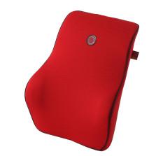 GIGI G-1110 车用记忆棉座椅腰枕 汽车靠垫靠背腰靠【红色】