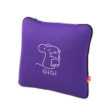 GIGI G-1070(A、E、U)车用护腰靠 大抱枕被子两用 【紫色】