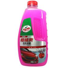 龟牌/Turtle Wax 樱桃爽洗车水蜡 中性洗车液 液体2.0L大瓶装 G-4701