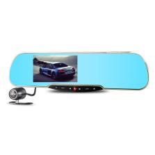 凌度 HS850B升级版智能后视镜安卓系统带导航后视双镜头行车记录仪含倒车影像+送16G卡