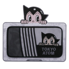 铁臂阿童木 XSJ-07多功能汽车CD夹遮阳板套【灰黑】XSJ-07G
