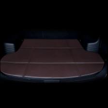 轩利 经典折叠平边系列 专车专用皮革经典折叠后备箱垫【咖啡色】