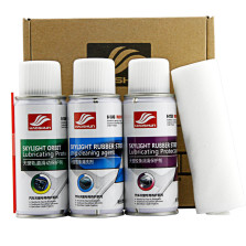 好顺/HAOSHUN 汽车天窗专用养护 套装 天窗清洗养护套装(3瓶*120ml+5块*清洁布)H-1350