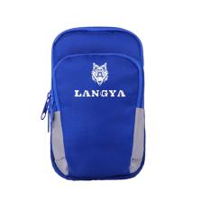 狼牙/LANG YA 手机臂包 旅游骑行运动臂带手腕包【蓝色大号】LY-50112