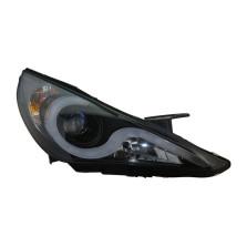 【免费安装】台湾秀山 大灯  现代八代索纳塔 适用【2010款及之后车型适用】双光大灯V2款 双光透镜带天使眼 雪莱特氙灯+澳兹姆安定器【一对装】