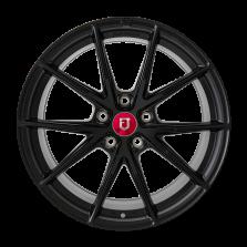 【买3送1 四只套装】丰途/FR553 19寸 旋压铸造轮毂 孔距5X120 ET32亚黑涂装