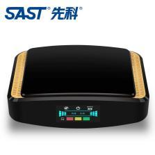 先科/SAST Q2净霸 车载空气净化器除甲醛pm2.5负离子 带空气质量显示屏【黑金】