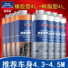 固特威 底盘装甲橡胶型1004与树脂型1003混合套装【八瓶装】