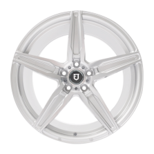【限时7折 四只套装】丰途/FT502 17寸 低压铸造轮毂 孔距5X108 ET40银色车亮