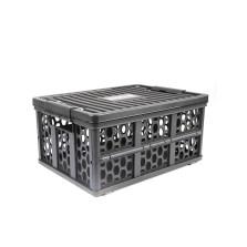 德国TAWA 车载折叠收纳箱 储物箱多功能整理置物盒【黑色28L】TWZD-170728