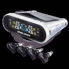 铁将军 ONE-S 内置式(白色)无线太阳能 胎压监测
