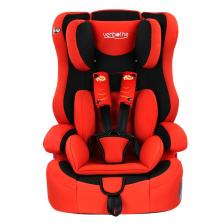 文博仕 HB-EA 车用儿童安全座椅 9个月-12岁宝宝 3C认证(中国红)