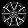 【买3送1 四只套装】丰途/FT506 18寸 低压铸造轮毂 孔距5X114.3 ET45黑色车亮
