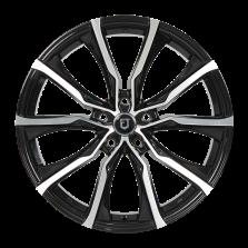 【买3送1 四只套装】丰途/FT506 17寸 低压铸造 孔距5X114.3 ET40黑色车亮
