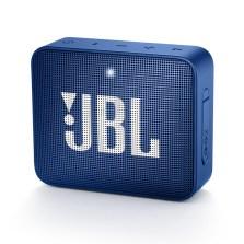 JBL GO2音乐金砖无线4.2蓝牙音箱 IPX7防水溅户外口袋便携车载低音炮 充电迷你语音免提通话小音响【GO2 宝石蓝】