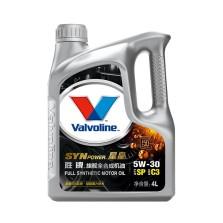 【全新升级】美国胜牌/Valvoline SYN POWER 星皇旗舰全合成机油 SP/C3 5W-30 4L【891422】