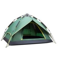 德国TAWA 【液压款全自动】帐篷 户外3-4人露营防雨家庭帐篷(军绿色)140420