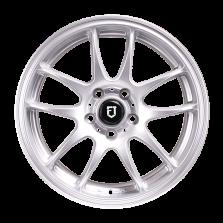 【买3送1 四只套装】丰途/FT504 15寸改装轮毂 5X108 银色 经典福克斯/新福克斯/福睿斯