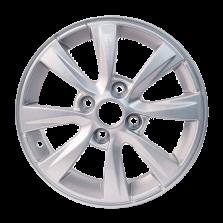 【四只套装】丰途严选/HG8186 14寸 赛欧原厂款轮毂 孔距4X100 ET45银色涂装