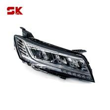 SK 荣威RX5  16年款 车灯改装卤素升级LED大灯总成 【熏黑*右灯】