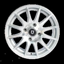 丰途/FT101 14寸低压铸造轮毂 孔距4X100 银色车亮