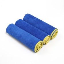 途虎定制 洗车毛巾强吸水小毛巾车用细纤维加厚不易掉毛擦车巾 小号40*40cm【3条装】