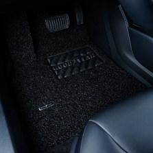 固特异飞足系列5座薄款丝圈三件套专车专用脚垫 17mm厚度【魔力黑】