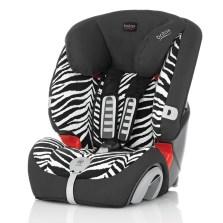 宝得适/Britax 超级百变王白金版 儿童安全座椅 9个月-12岁(小斑马)