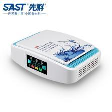 先科/SAST Q2净霸 车载空气净化器除甲醛pm2.5负离子 带空气质量显示屏【白蓝】