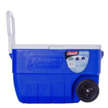 科勒曼/COLEMAN 47升双滚轮保温箱(蓝)3000001351
