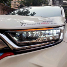 【免费安装】龙鼎适用于新CRV全LED大灯总成17-18款改装日行灯透镜