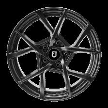 【买3送1 四只套装】丰途/FT515 17寸 低压铸造轮毂 孔距5X112 ET42亮铁灰全涂装 免费安装+送铝合金气门嘴+送螺栓/螺母+免费动平衡+专业改装