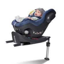 宝贝第一 启萌系列 0-4岁 isofix接口+防翻支撑腿 汽车儿童安全座椅 【幻影蓝】