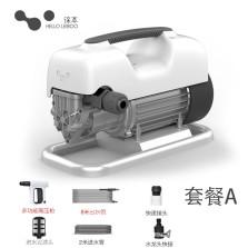 徕本 L0洗车机高压家用220V全自动抢便携式刷车水枪泵清洗机A套餐【主机+8米出水管+短枪】