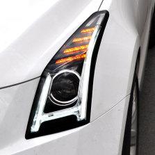 【免费安装】龙鼎适用于凯迪拉克atsl大灯总成14-18年改装H款日行灯led透镜