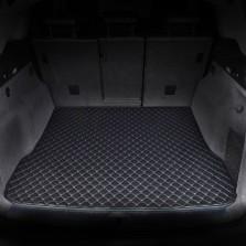 御马(yuma)车佰仕皮革后备箱垫专车定制 纯黑色