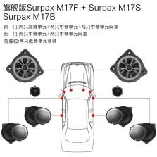 【免费安装】丹拿DYNAUDIO SURPAX M17 奔驰C/GLC/E/S系列专用汽车音响旗舰版 全车八扬声器无损安装