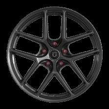 【买3送1 四只套装】丰途/FT519 17寸 低压铸造轮毂 孔距5X114.3 ET40亮铁灰全涂