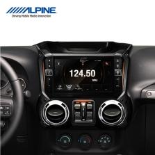 【免费安装】alpine阿尔派牧马人专用导航智能车机改装X109WRA无损音乐高音质