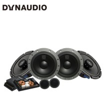 免费安装 丹拿DYNAUDIO ESOTAN 232 汽车音响改装 两分频套装+POWERBASS 2XL-653同轴六喇叭套餐