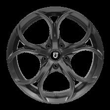 【买3送1 四只套装】丰途/FT511 17寸 低压铸造轮毂 孔距5X114.3 ET40枪灰涂装