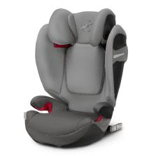 德国 cybex/赛百适 汽车儿童安全座椅solution S-fix 3-12岁 曼哈顿灰