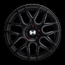 【四只套装 仅960元/只】丰途/华固HR370 18寸 旋压铸造轮毂 孔距5X120 ET30亚黑涂装